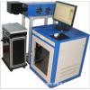 不锈钢五金件激光标号打标机/塑胶电子精密型激光喷码机!