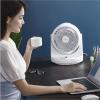 FUSHIAI小度ai智能涡轮电风扇家用摇头静音台扇遥控空气循环扇厂FSA-880