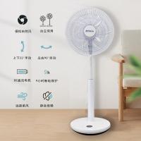 FUSHIAI富士艾落地扇家用电风扇遥控静音智能变频立式充电风扇FSA-868