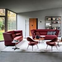 Poltrona Frau家具轻奢真皮沙发客厅别墅住宅意式高端定制家居