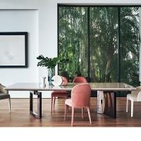 fendi芬迪家具意式轻奢餐厅餐桌椅高端定制别墅样板间艺术家居
