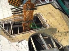 深圳市汉京金融中心钢结构屋面、内隔墙保温工程